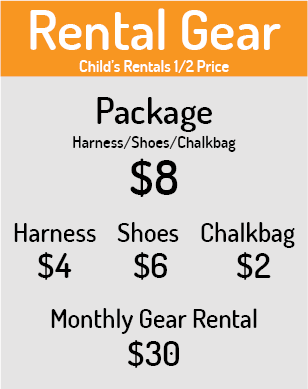 Rental Gear Rates
